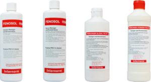 Fenosol Pflegeprodukte für Fenster und Türen