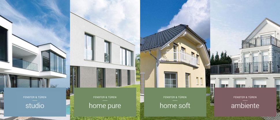 Fenster & Türen Modelle von Internorm
