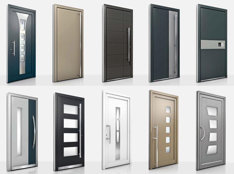 ged mmte und gesicherte haust ren f r h user und wohnungen. Black Bedroom Furniture Sets. Home Design Ideas