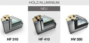 Holz / Aluminium Fenster