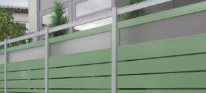 Staketto Horizontal Balkon-Geländer