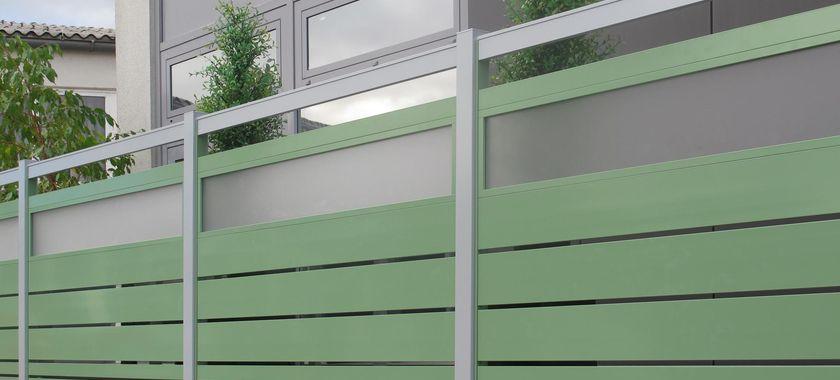 Gelnder Sichtschutz Stunning Wpc Wpc Sichtschutz Zaun Der