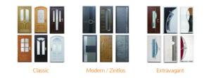 Haustüren-Variationen von Topic