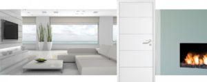 Weisse Holz-Innentüren