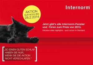 Internorm Preisvorteil 2014