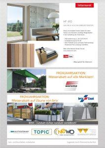Viele Angebote für Häuslbauer und Renovierer