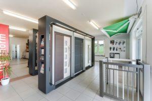 Schauraum von Innentüren, Haustüren, Fenstern, Sonnenschutz uvm